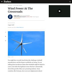 Council Post: Wind Power At The Crossroads