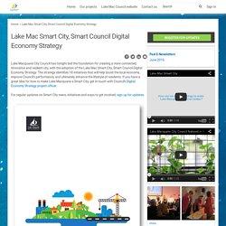 Lake Mac Smart City, Smart Council Digital Economy Strategy