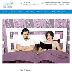 Counseling for Sexual and Sexuality Issues - Sex Therapy for Couples