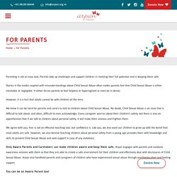 You can be an Aware Parent too