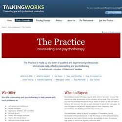 The Practice, counselling and psychotherapy, Orewa and Warkworth