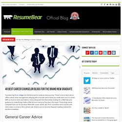 40 Best Career Counselor Blogs for the Brand New Graduate