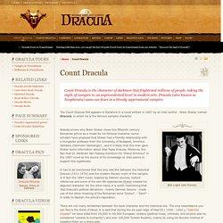 Count Dracula - Dracula