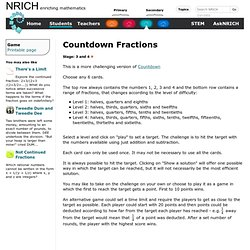 Countdown Fractions