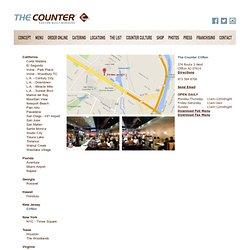 The Counter : Custom Built Burgers : L.A. - Century City
