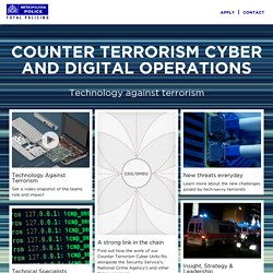 Met Police - Counter Terrorism Cyber and Digital Operations