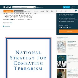 US Air Force: Counter Terrorism Strategy