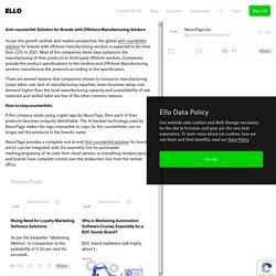 Anti-counterfeit Solution Brand - anticounterfeitsoftware
