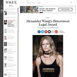 Alexander Wang Awarded 90 Million Counterfeiting CyberSquatting