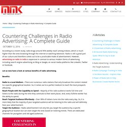 Countering Challenges in Radio Advertising: A Complete Guide