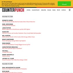 CounterPunch: Tells the Facts, Names the Names