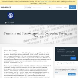 Terrorism and Counterterrorism: Comparing Theory and Practice - Universiteit Leiden