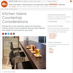 Kitchen Designs - Choose Kitchen Layouts & Remodeling Materials
