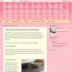 Natural Stone, Granite, Marble, Quartz Countertops in Tyrone, GA: 7 Benefits of Soapstone Countertops