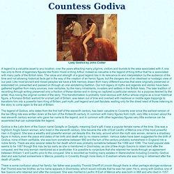 Countess Godiva