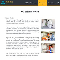 Oil Boiler Repair Service - Essex, Passaic and Morris counties