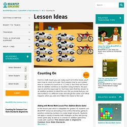 Counting On Lesson Plans and Lesson Ideas