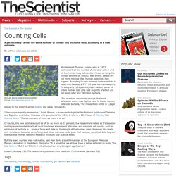 Counting Cells