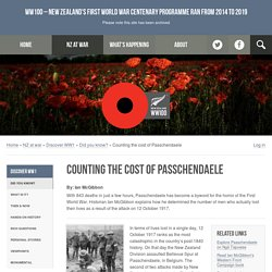 Counting the cost of Passchendaele