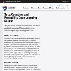 Sets, Counting, and Probability | Free Harvard Courses