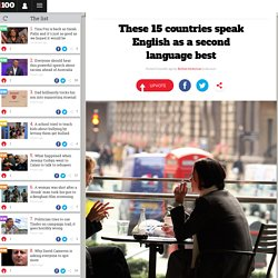 These 15 countries speak English as a second language best