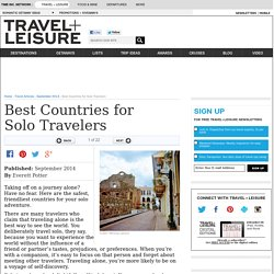 Best Countries for Solo Travelers