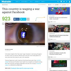 This country is waging a war against Facebook