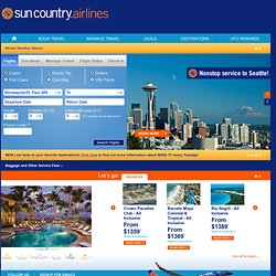 Sun Country Airlines – The Hometown Airline