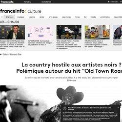 """La country hostile aux artistes noirs ? Polémique autour du hit """"Old Town Road"""""""