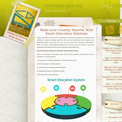 Make your Country Smarter With Smart Education Solutions
