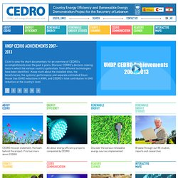 Environmental Impact Assessment of Wind Farms | News & Events | CEDRO UNDP