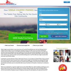 Country Friends Date - Free dating for Country Folks