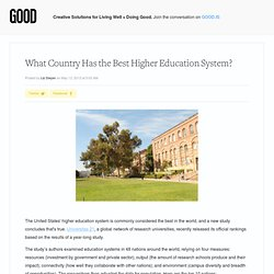 What Country Has the Best Higher Education System?