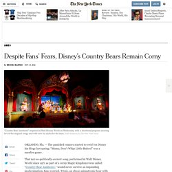 'Country Bear Jamboree' at Walt Disney World