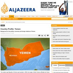 Country Profile: Yemen - Yemen