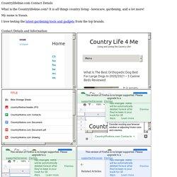 Countrylife4me.com Contact Details