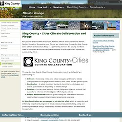 King County: Cities Climate Collaboration