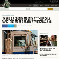 'There's a County Mounty at the Pickle Park,' and More Creative Trucker Slang