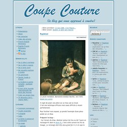 Coupe Couture : Rapiécer