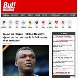 Coupe du Monde – EXCLU Desailly : « Je ne pense pas que le Brésil puisse aller au bout »