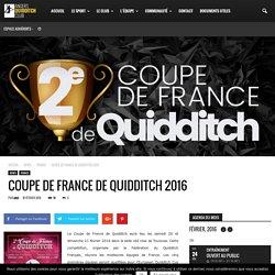 ANGERS QUIDDITCH CLUB - Coupe de France de Quidditch 2016