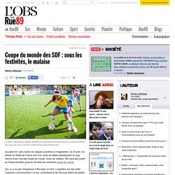 Coupe du monde des SDF: sous les festivités, le malaise