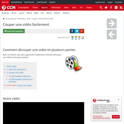 Movie maker m pearltrees - Logiciel couper une video ...