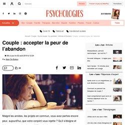 Couple : accepter la peur de l'abandon