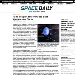'Odd Couple' Binary Makes Dual Gamma-ray Flares