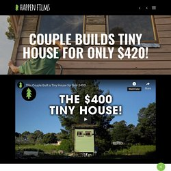 Couple Builds Tiny House for only $420
