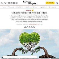 Couple : comment renouer le lien