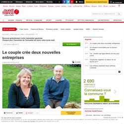 Le couple crée deux nouvelles entreprises