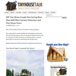 DIY Tiny House Couple Now Saving More Than Half Their Income! (Interview and Tiny House Tour)