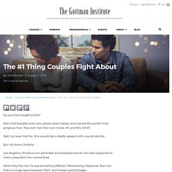 The #1 Thing Couples Fight About - The Gottman Institute